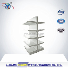 Hot sell light duty metal grocery store rack-Supermarket shelf-Double sided shelving