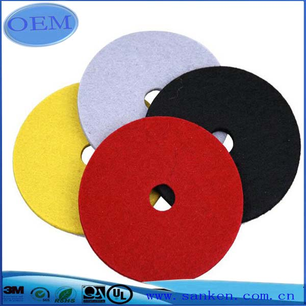Manufacturer Colored Hard Wool Felt for Industry and Making Industry