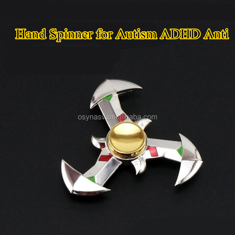 2017 Hot Selling Handspinner Great For Fidgety Hands, ADD & ADHD Sufferers Helps Relieve Stress