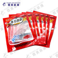 moisture proof feature snack food packing clear plastic bag with hang hole