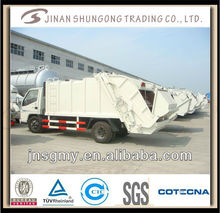 china 4X2 140hp garbage truck for sale