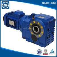 K series helical bevel gearbox speed reducer gear reductor