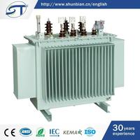2015 New Model 3 Phase Electrical Equipment 66Kv Oil Filled Electrical Power Transformer