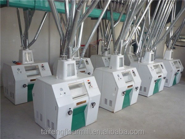 Food & beverage machinery maize flour milling machine