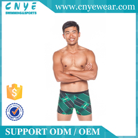 OEM/ODM CNYE 2016 mens latex beach shorts swimwear