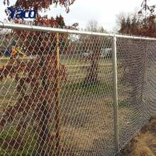 Decorative 2.5mm Hot Dip Galvanzied Chain Link Fence