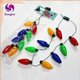 Christmas Party LED Necklace Light-colored Bulb Lights Lamp