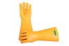 high voltage insulated safety rubber electrical resistant gloves