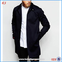2015 Top selling cheap china wholesale clothing mens trench coat