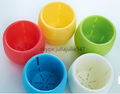 mini plastic flower pots, succullent flower pots ,colorful mini flower pots