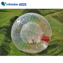 New inflatable zorb ball, high quality inflatable human hamster ball