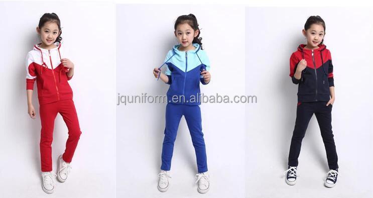New Style China Uni-Sex Primary School Sports Uniforms