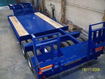 LOWBED Trailers Capacity:100 ton