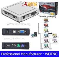 PC station 32 bit, PC share with webcam,Virtual desktop computer