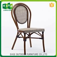 Manufacturer wholesale Shapely Non-wood Aluminum used hotel patio furniture