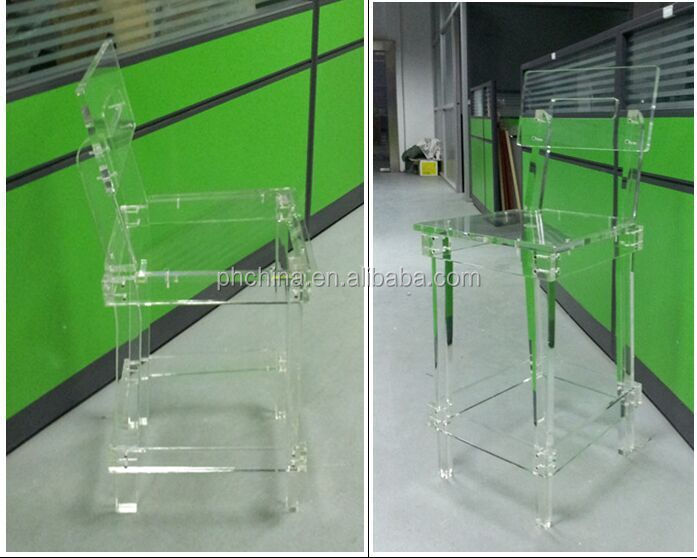 15 years' SGS factory sell home furniture factory direct sell Acrylic dinning chair, acrylic coffee chair