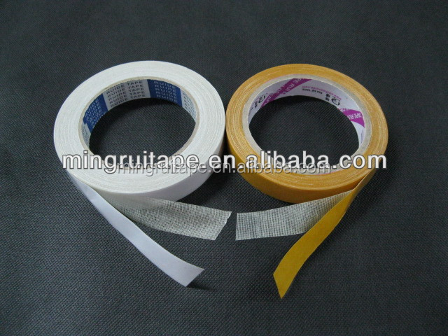 Supply 235/50/70 mesh 230/250/280/300 mic cheap designer patterned colored custom printed double side cloth tape