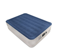 Wholesales New Product Queen Size Air Matress Built In Pump Blow Up Frocked Bed Mattress