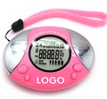 durable digital counting pedometer / wristband calories burned pedometer