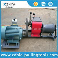 1 Ton Electric Capstan Small Electric Winch Cable Drum Winch