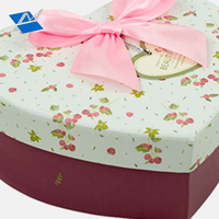 Best Quality Eco Friendly Heart Shape Paper Gift Packaging Box