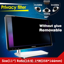 two ways 3m privacy filter for monitor computer laptop screen film protect privacy 11 inches