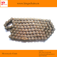 2014 Hot sale 420H four side riveting motorcycle drive chain