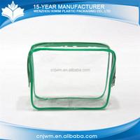Custom type mini fashion transparent pvc personalized make up bags