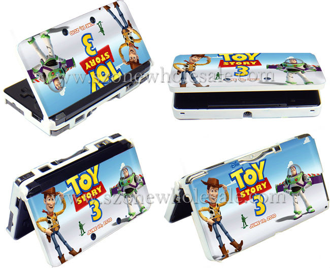 protective game case for Nintendo 3DS ,( TOY story 3)