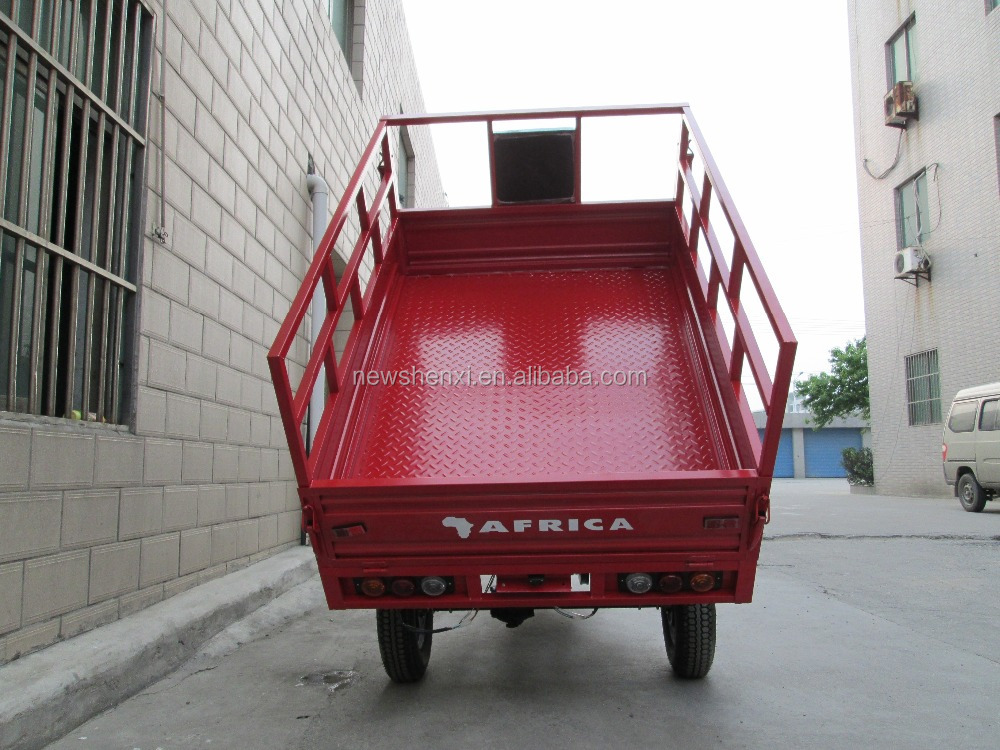 Hot Sale Enclosed Box Heavy Load EEC Three Wheel Cargo Motor Tricycle For Sale