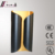 High quality iron handmade roll matt black wall mount lamp for hotel