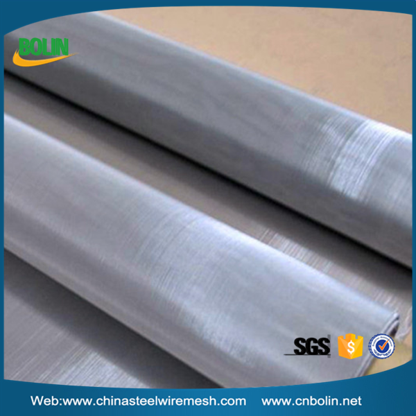 Higher heat conductivity 12 mesh super duplex S32750 stainless steel woven wire mesh screen