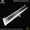 700 mm long stainless steel 304 concealed floor shower drain with grate cover