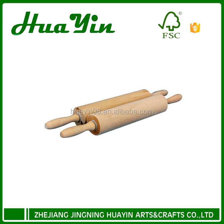 Wholesale wooden natural rolling pin for kitchen