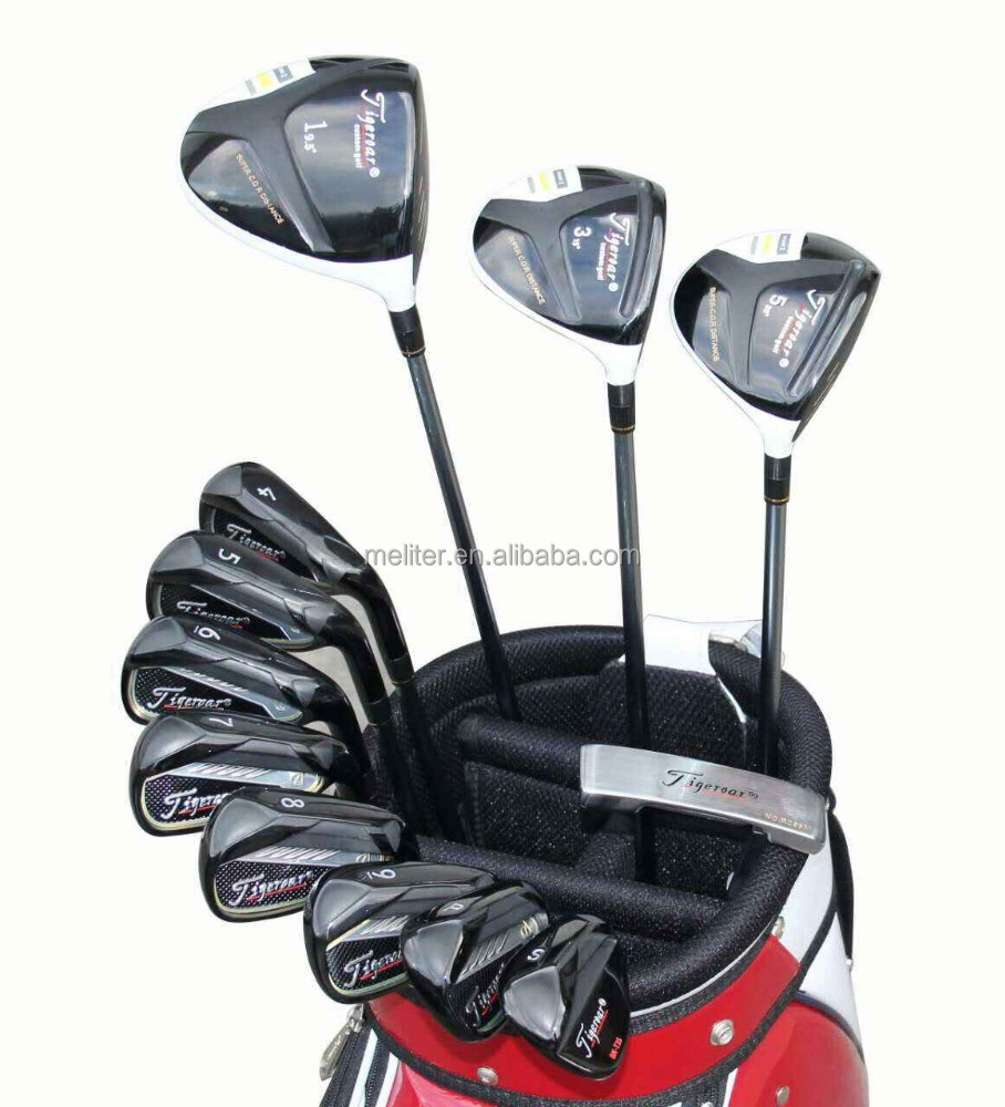 Tiger Golf irons,golf putters, golf club whole set