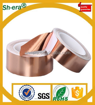 single conductive copper foil tape for shielding in China supplier with fast shippment