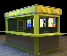 High Quality Fast Food Retail Kiosk Mall Food Kiosk for Sale
