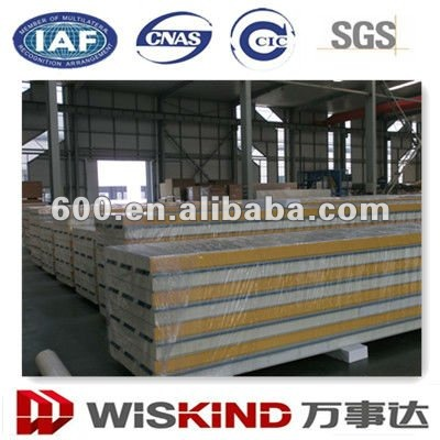 Industrial warehouse used Insulated PU sandwich panels