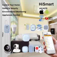 2016 New Home Automation Software Free with Wi-fi Zigbee Gateway Controller