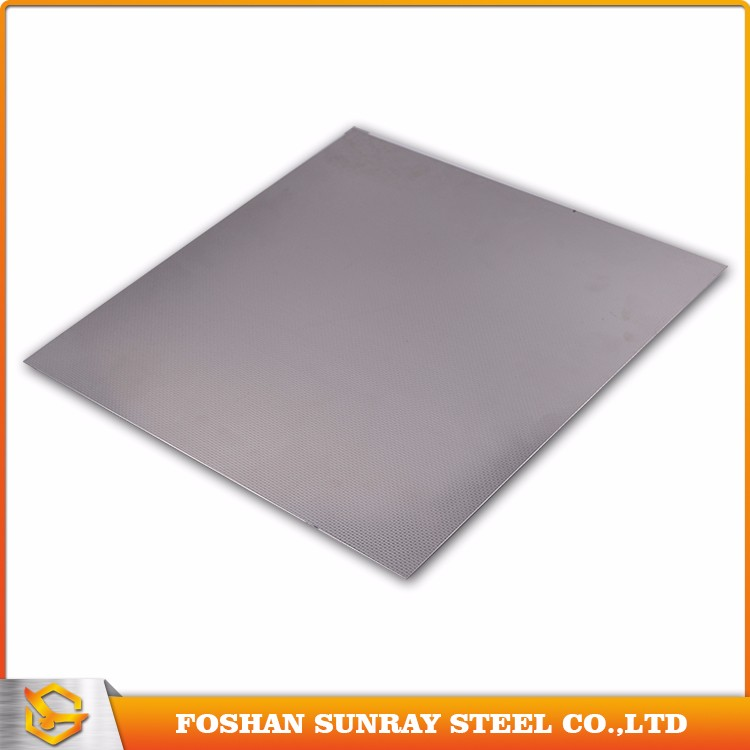 Business For Sale 430 Embossed Decorative 2mm Thick Stainless Steel Plate
