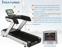 Commercial Treadmill with touchscreen 2015
