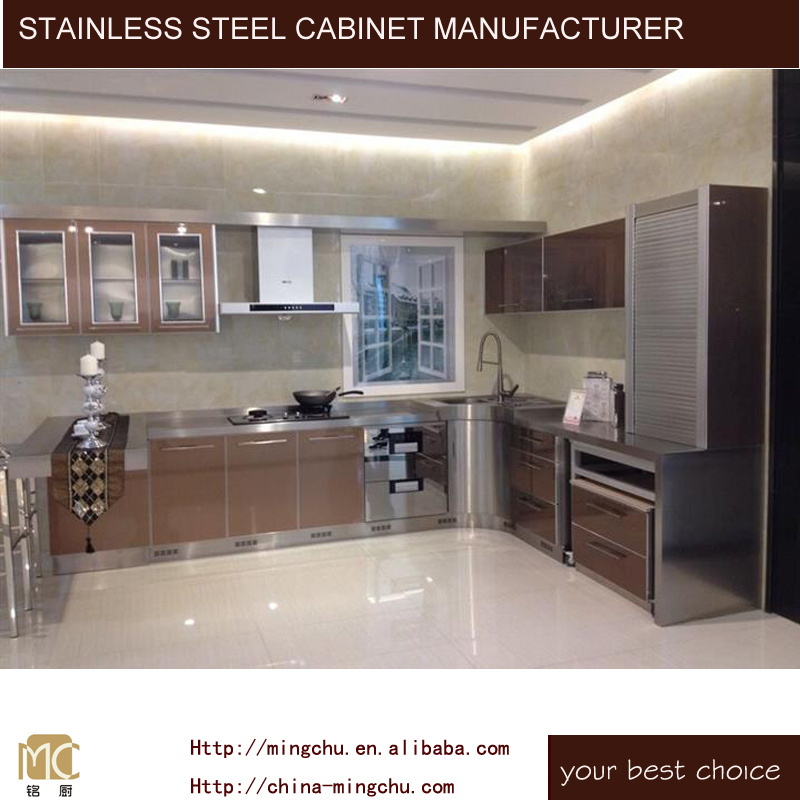 stainless steel ss304 ss201 cupboard aluminium kitchen cabinet in pakistan pantry unit