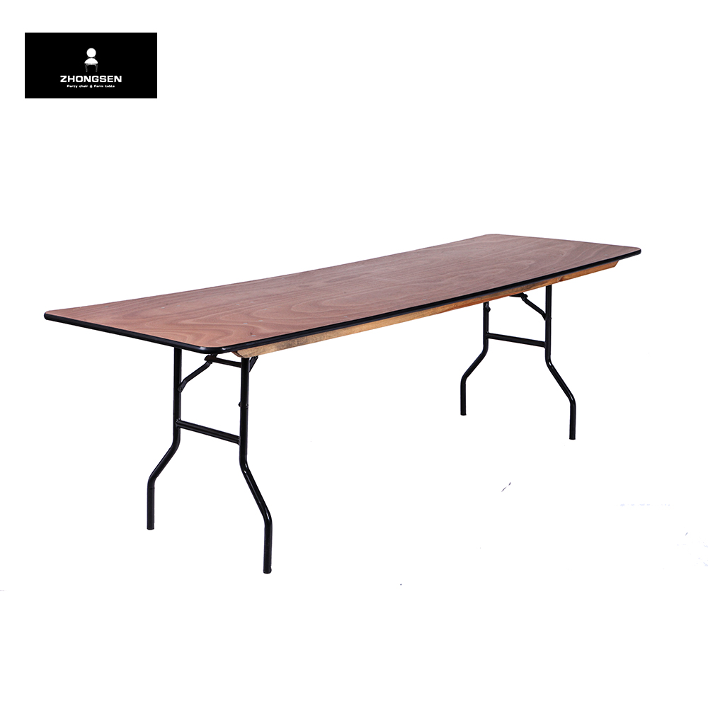 Marvelous Banquet Table Rectangle Wood Long Folding Table   Buy Wood Dining Table,Trestle  Table,Wood Table Product On Alibaba.com