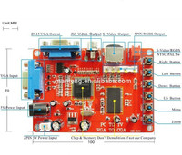 VGA to CGA Video Converter Board for Game Machine