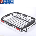 Heavy duty aluminum car roof light bar luggage carrier