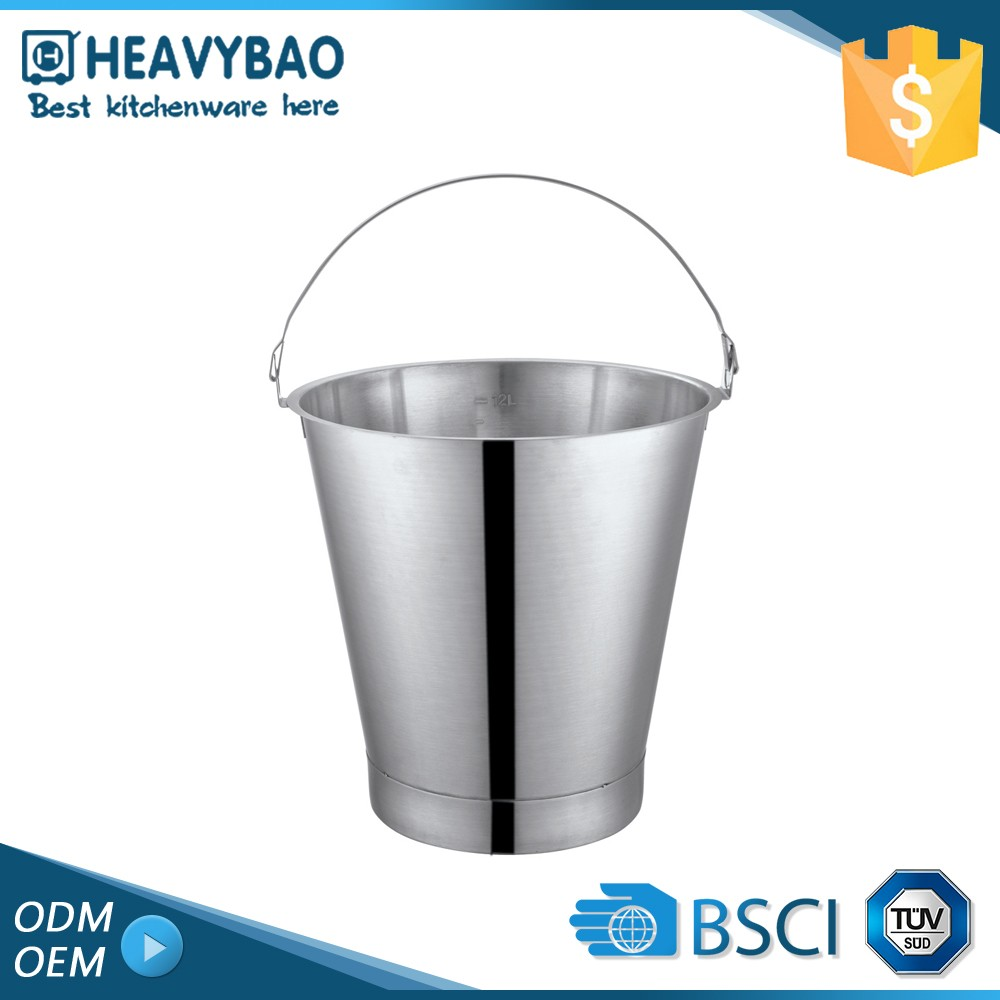 Heavybao Luxury Quality Kitchenware Pail Fancy Alcohol Bucket With Handle