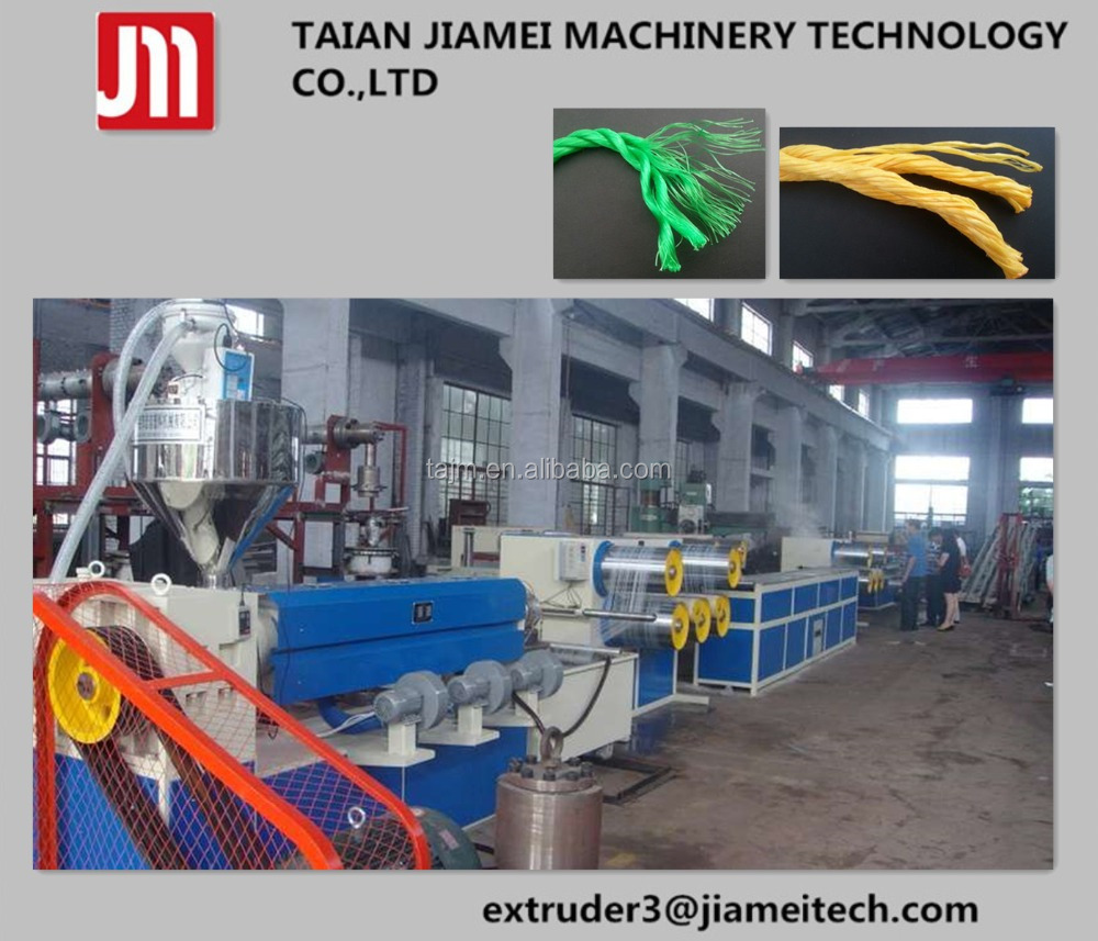 plastic stretching film tape production line/ pp twine extruder