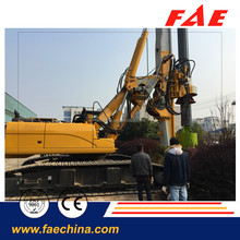 small Construction equipment, FAR75 Hydraulic rotary drilling rig with Rexroth motor reducer