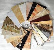 unbroken pvc marble sheet for wall