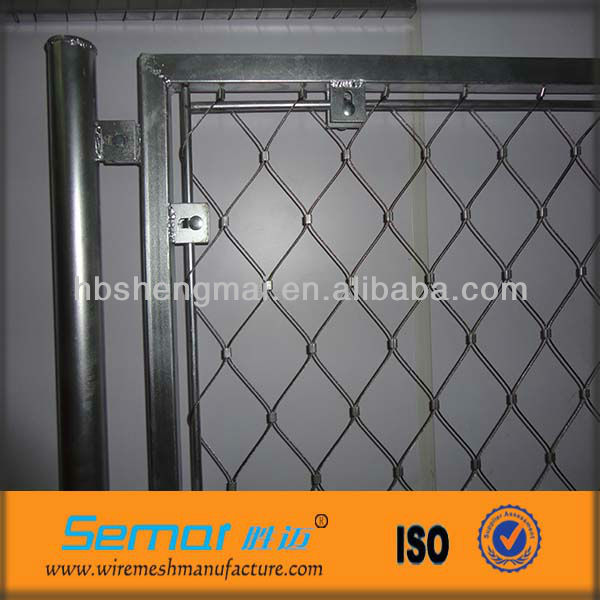 SS rope wire mesh fence for decoration